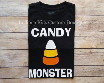 Candy Corn, Candy Monster Black shirt*