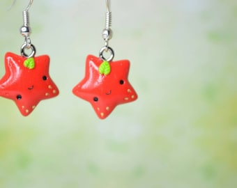 Kawaii Strawberry Stars