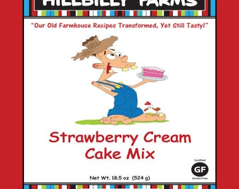 Gluten-Free Strawberry Cake Mix