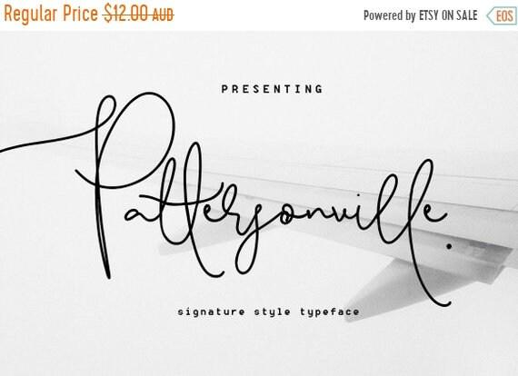 70% OFF Sale Calligraphy Font, Modern Calligraphy, Digital Fonts, Wedding Font, Invitation Font, Script Font, Digital Download, Pattersonvil