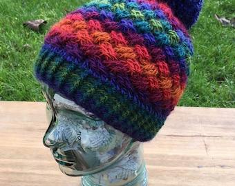 Celtic Weave Crochet Hat