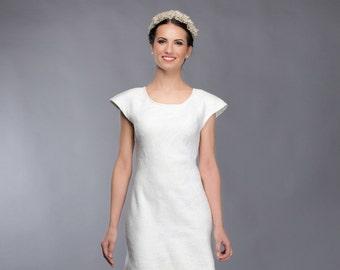 Unique wedding dress   Felted wedding dress   bridal dress   handmade dress   silk wedding dress   original bride dress  