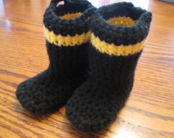 Firemen's boot booties