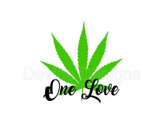 One Love SVG FILE