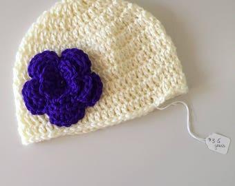 Flower Hat (cream)