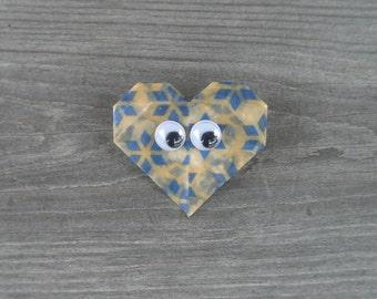 Heart Pin // Googly Eyes // Wiggle Eyes