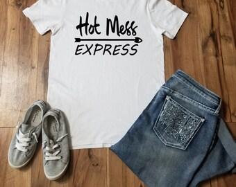 Hot Mess Express  Youth Shirt