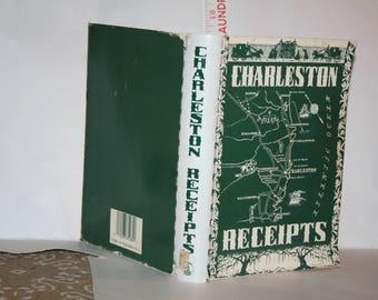 Charleston Receipts Charleston, South Carolina Cookbook!  Junior League of Charleston 1950 / 25th Printing 1986 Edition!