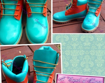 Custom Painted Timberland boots for Men, Women or Kids