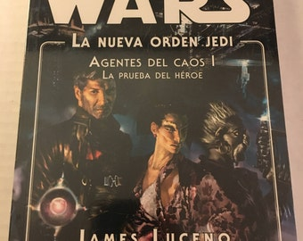 Star Wars - Agents Of Chaos I: Hero's Trial - by James Luceno - The New Jedi Order (Spanish edition paperback)