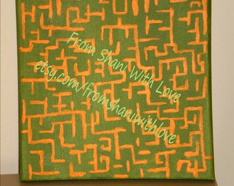 The Amazing Maze-Uniqe gift for men-new home-Birthdays present