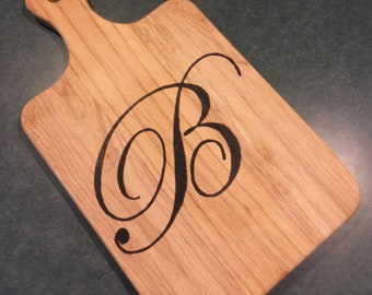 Personalized, Wood Burned Cutting Board