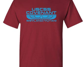 USCSS COVENANT - t-shirt short or long sleeve your choice!