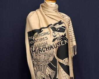 Baron Munchausen by  Rudolf Erich Raspe Scarf/Shawl