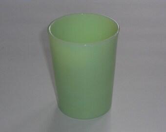 Vintage McKee Jadeite Straight Side Tumbler Juice Glass