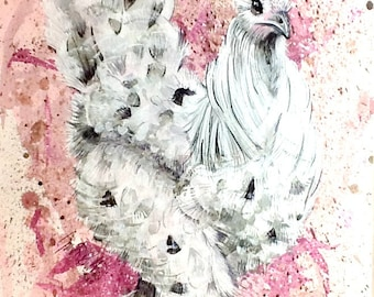 Fancy Pants On Parade An Original Hen Painting