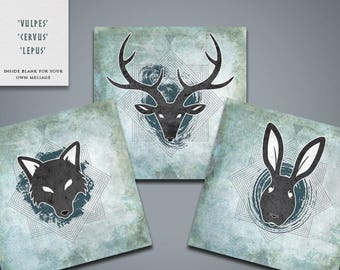 Wild Greetings Cards (pack)