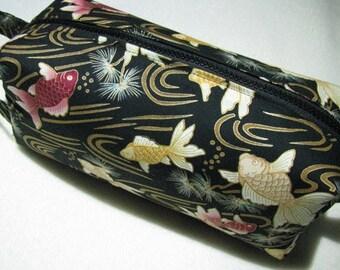 Elegant Koi Fish Bag Craft Bag Cosmetic Bag Makeup Bag Shaving Kit LARGE