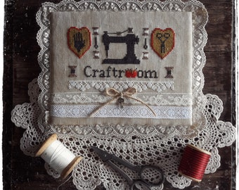 My Craft Room - PDF Cross Stitch Pattern