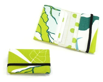 Credit card case sewing pattern, business card holder, PDF pattern and tutorial, card wallet, instant download w002