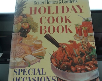 Vintage Better Homes & Garden Cookbook, Special Occasions