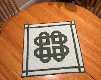 Celtic Table Topper or Wall hanging