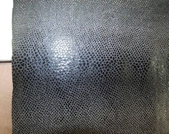 LEATHERETTE fabric, leatherette, 155 cm, black, ideal for skirt, pants, cover an object