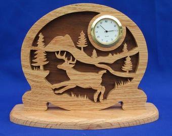 Deer Desk Clock
