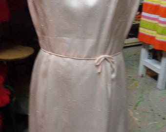 VINTAGE 1960's Pale Pink Summer Dress by Saks Fifth Avenue - (available)