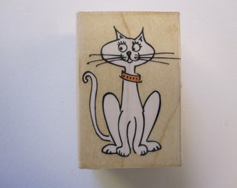 rubber stamp - Hero Arts KITTY - C3939
