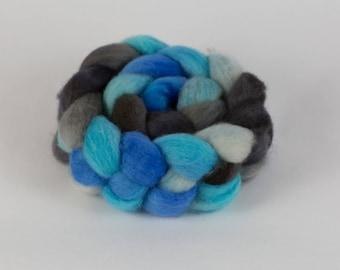 BFL Wool Roving - Handdyed - 4 oz