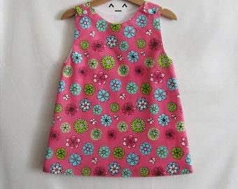 Girl's dress , child's dress , cotton dress , french dress