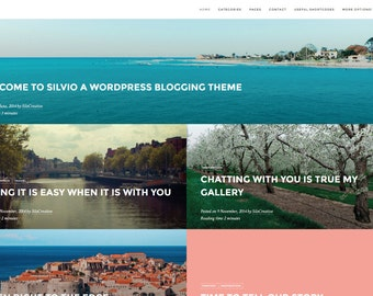 Silvio - WordPress Travel Blog Theme