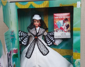 1994 Scarlett O'Hara Barbie Doll NRFB Gone With The Wind Hollywood Legends Collection Timeless Creations Mattel Rare Classic Collector Film