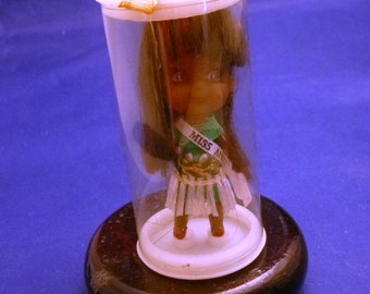 Vintage Miniature Miss Africa Made in Hong Kong Collectible Doll, 1960s