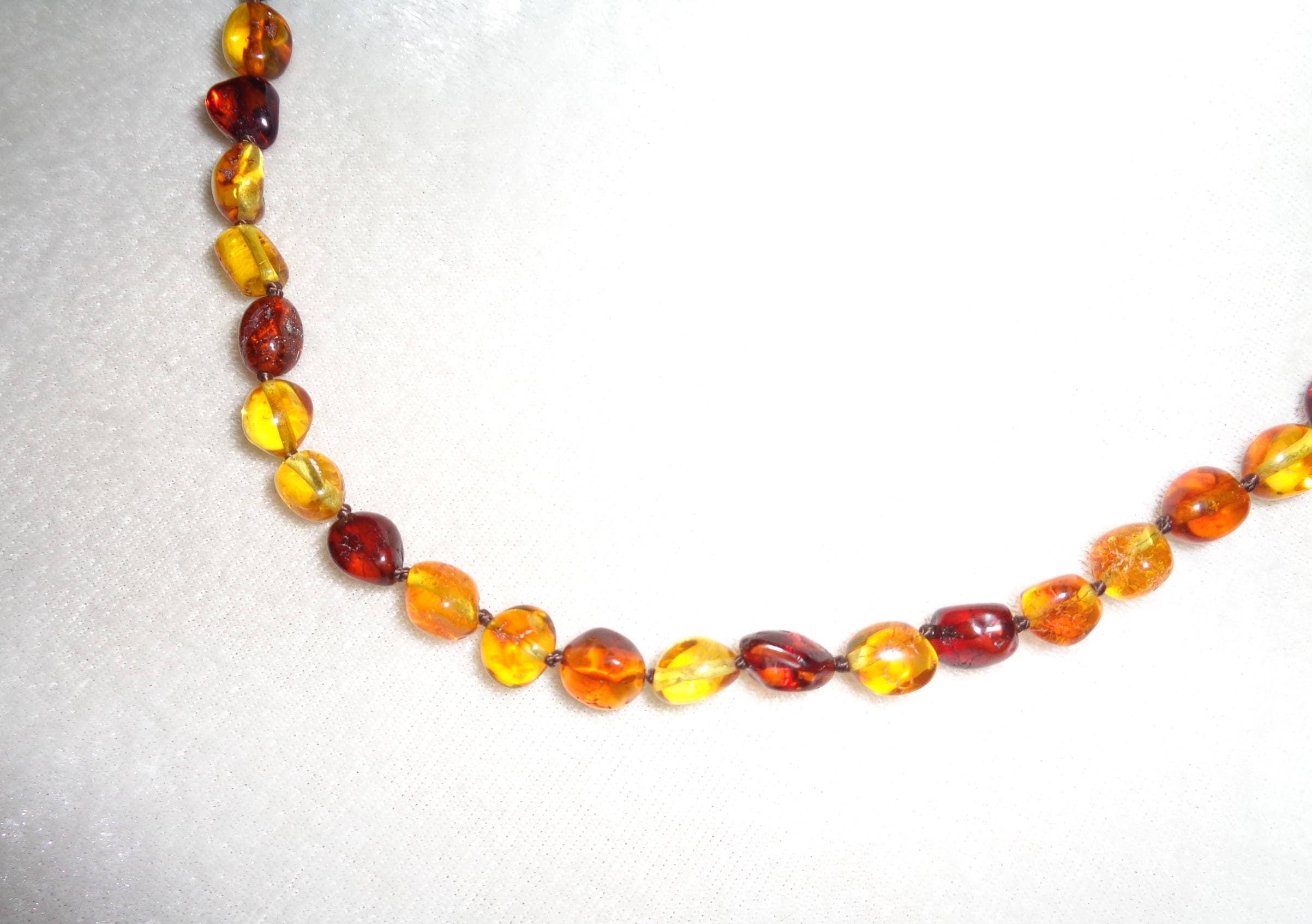 100% Natural & Handmade Amber Beads Jewelry tA1F9pXzKq