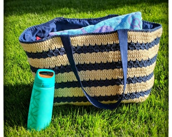 Beach bag| extra large beach bag| crochet beach bag| crochet tote bag |extra large tote bag| tote bag