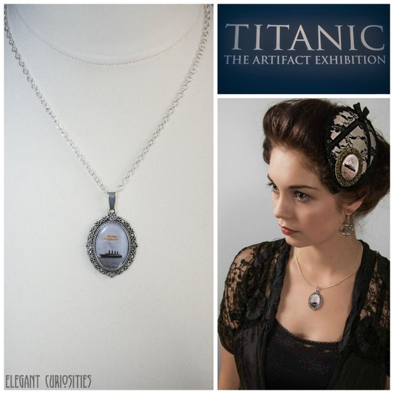 Pendant with a real piece of wood from the rms titanic as aloadofball Image collections