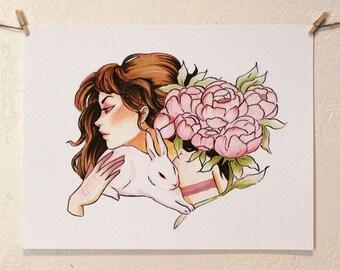 Bunny Magic // Print