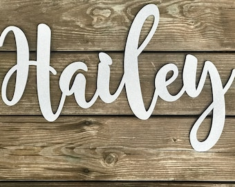 Wooden Name, Custom Wooden Name, Wooden Word, Nursery Name Decor, Baby Name Decor, Personalized Name, Wood Name, Wooden Letters, HA1