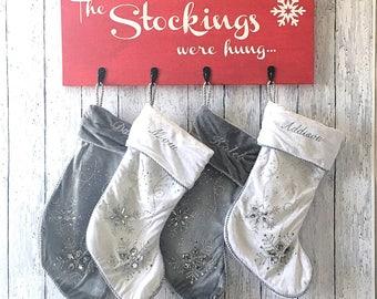 DIY Kit - Stockings Were Hung Board
