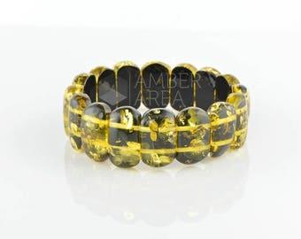 Natural Baltic Amber Bracelet // 0469