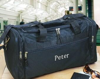 Embroidered Travel Duffel Bag -gfyE358835