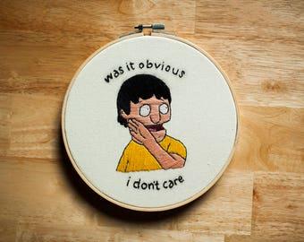 Gene Belcher Embroidery (Bobs Burgers)