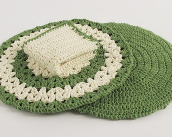 Pot Holders and Kitchen Washcloth, Discloth Cotton, Hot Pads for Cooking