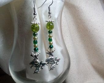 Mansfield hornets earrings 25