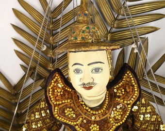 Traditional Thai - Thai puppet - puppet - String marionette String puppet