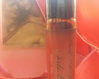 SEDUCTION OIL* Natural Perfume Oil* Pure Essential Oil Blend* Natural Pheromones* Entice Them With SEDUCTION* Captivate Them With Magick