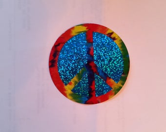 1990 s Vintage Peace Sign Vending sticker