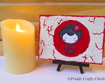 Chibi Geisha Art